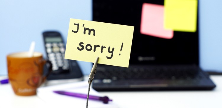 Career Guidance - Why Over-Apologizing Could Make You Sorry