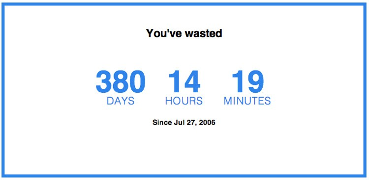 Career Guidance - How Much Time Have You Wasted on Facebook?