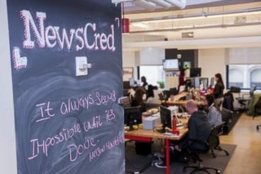 NewsCred snapshot