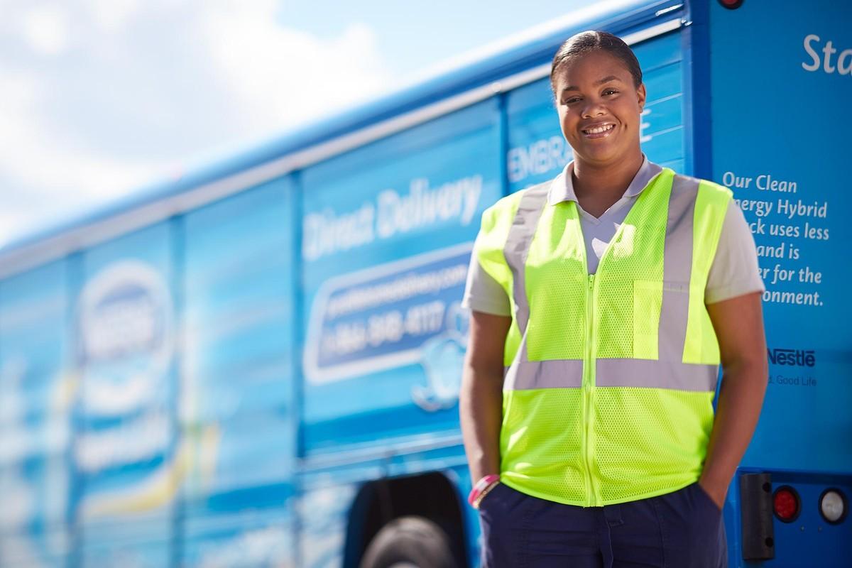 Nestlé Waters company profile