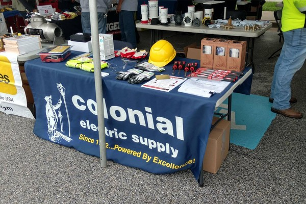 Working at Colonial Electric