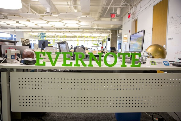 Working at Evernote