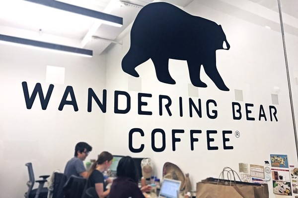 Working at Wandering Bear Coffee