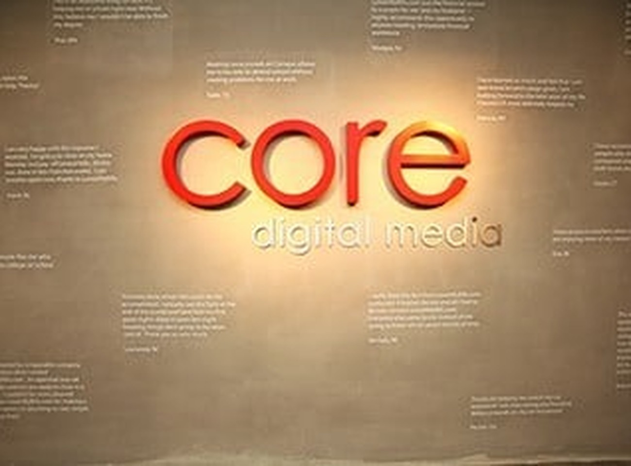 Core Digital Media Careers