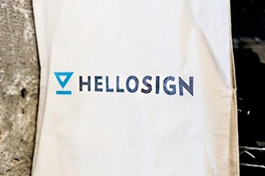 HelloSign snapshot