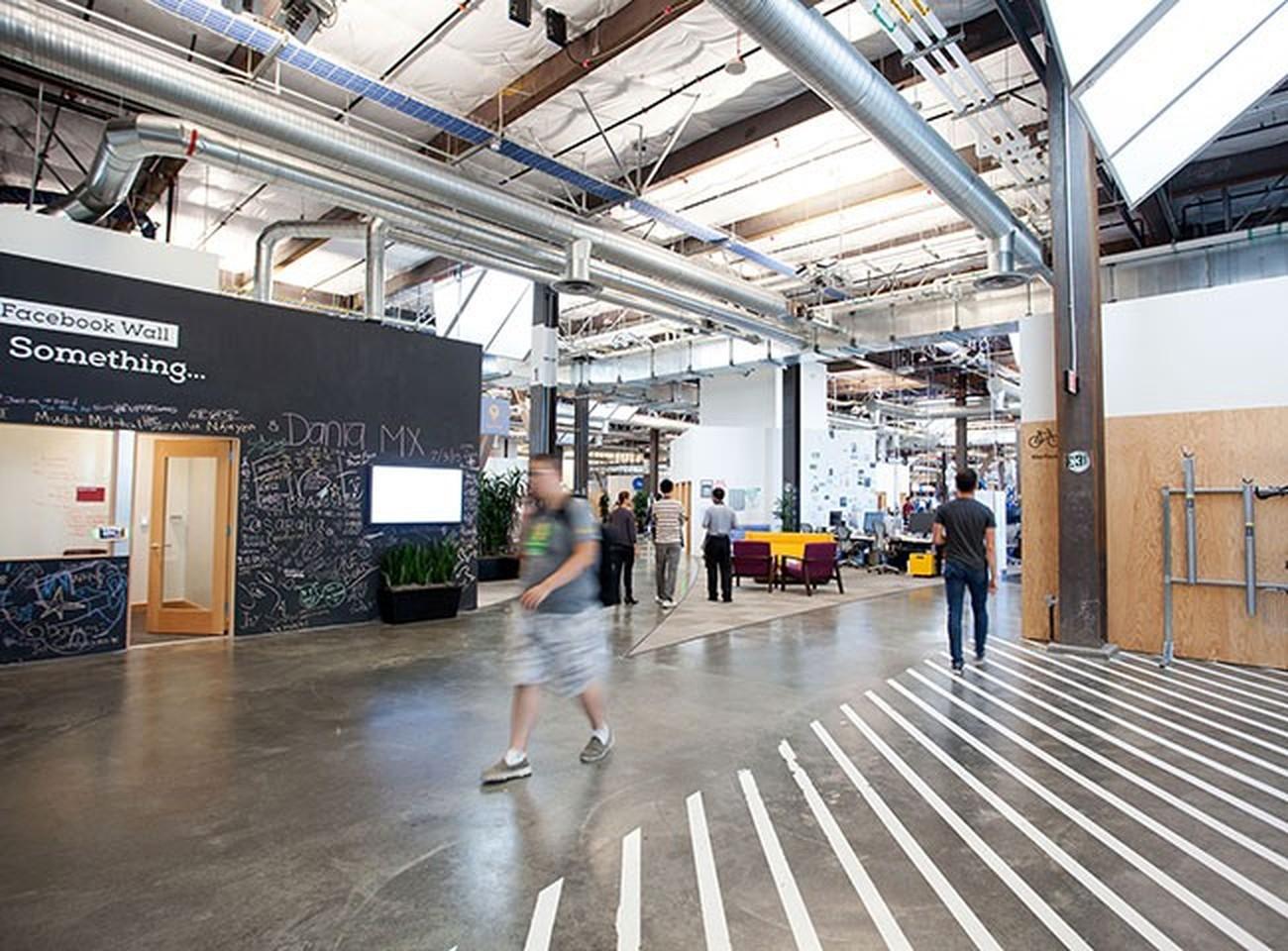 100 Facebook Office Interior Design