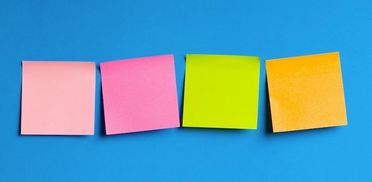 How 2 Minutes and 2 Post-Its Can Help You Reach Your Goals