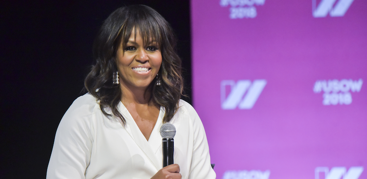 Michelle Obama at The United State of Women Summit 2018