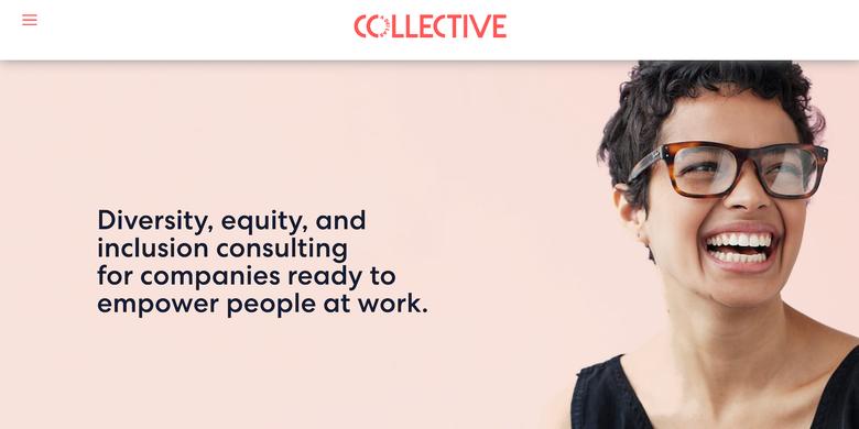 screenshot of Collective's website