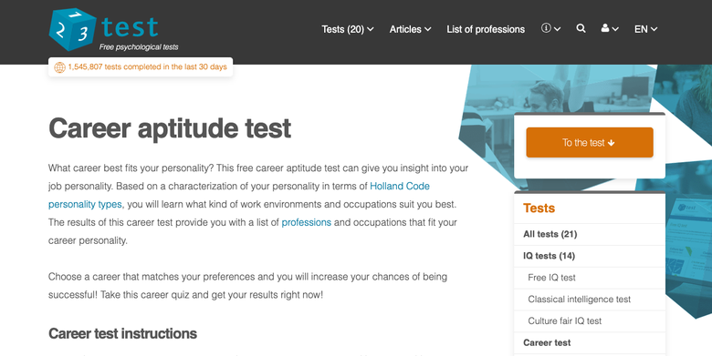 The Best Career Tests And Quizzes To Find Your Dream Job The Muse