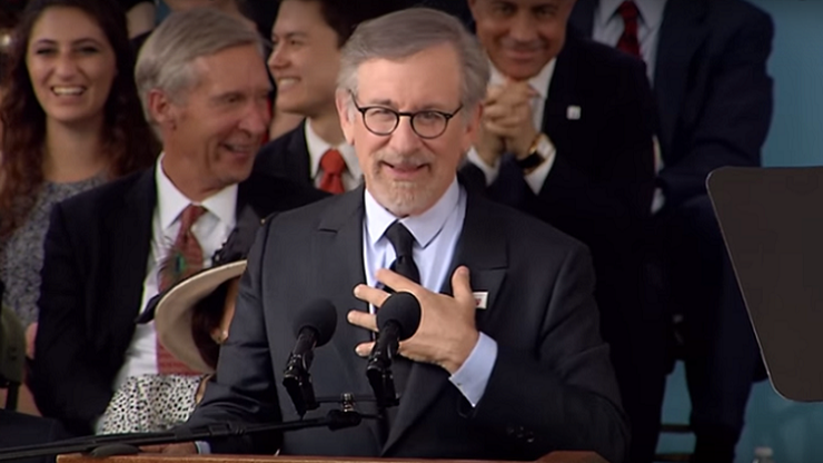 Steven Spielberg commencement speech