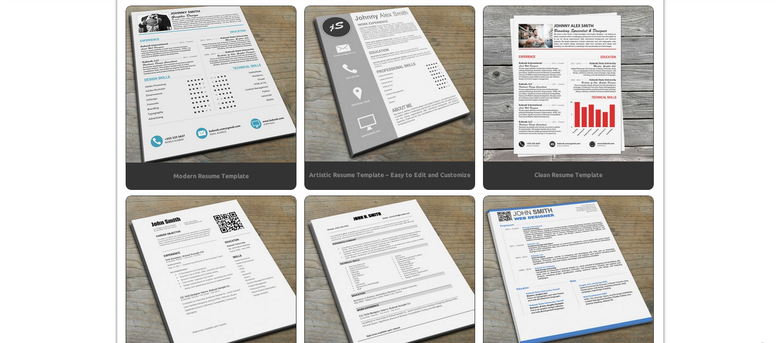 resume templates for visual resumes the muse