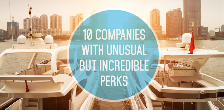 Career Guidance - 10 Companies With Unusual but Incredible Perks