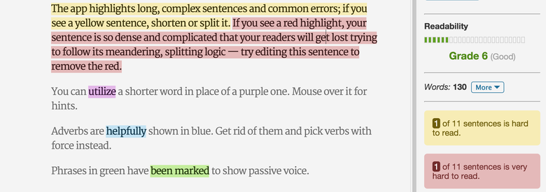 getting rid of passive voice