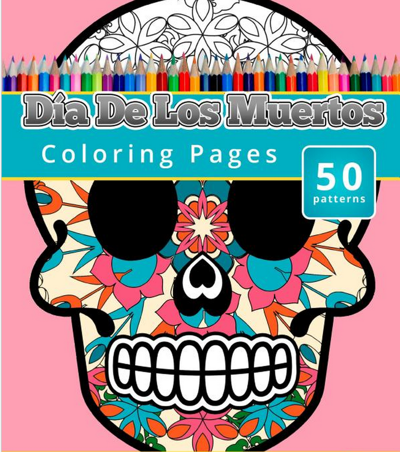 Color Dia Adult Coloring Book