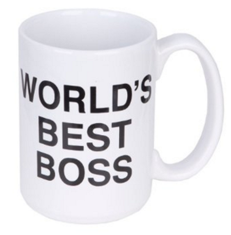 gifts for bosses: world's best boss mug