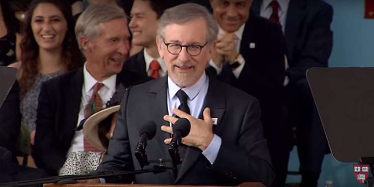 Steven Spielberg's 2016 Harvard Commencement Speech