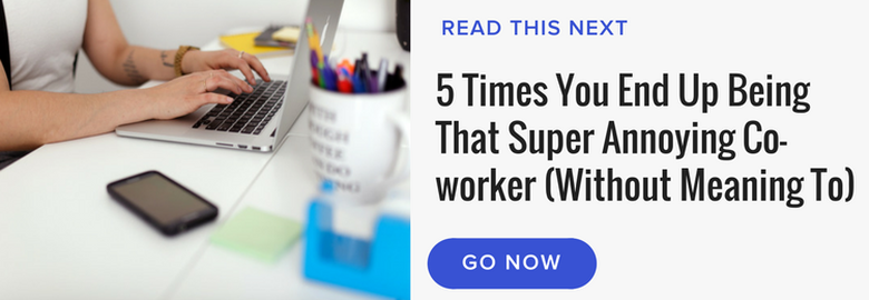 read next annoying co-worker