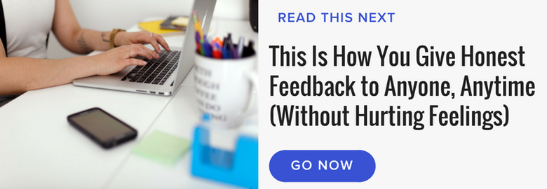 honest feedback read next