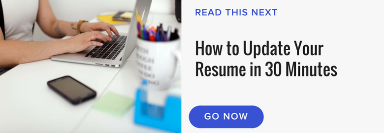 6 good reasons to keep your resume updated the muse