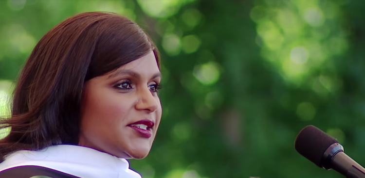 Mindy Kaling Reminds You That Having a Checklist's Fine, But Don't Be Afraid to Let it Go thumbnail image