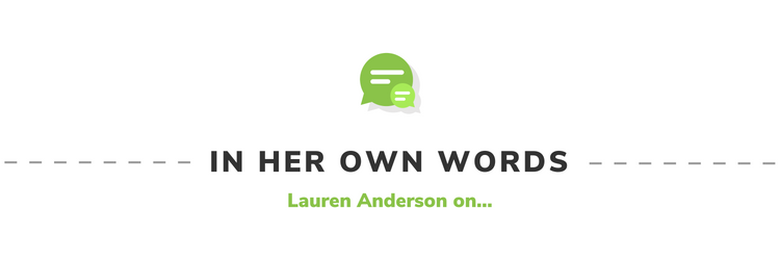 In Her Own Words: Lauren Anderson on...