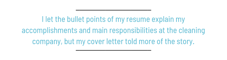 How To Make The Little Jobs On Your Resume Shine The Muse