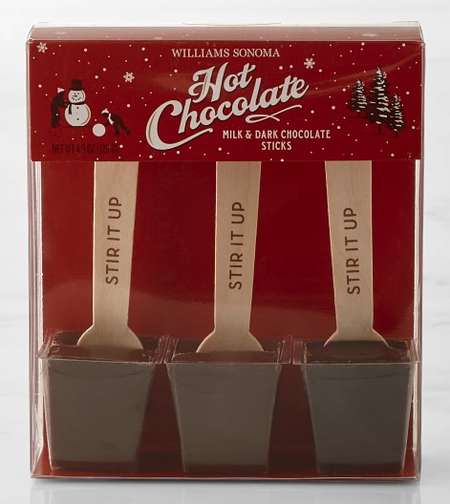 gift for business mentor: hot chocolate stir sticks