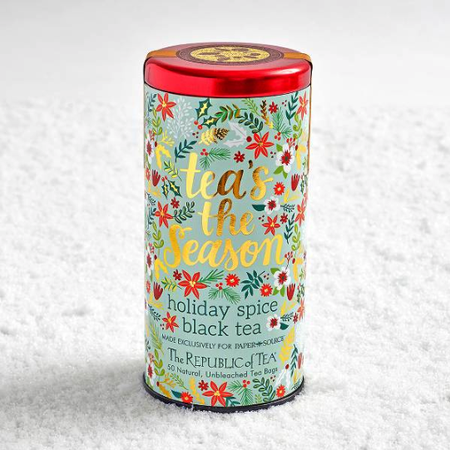 gift for business mentor: holiday spice black tea
