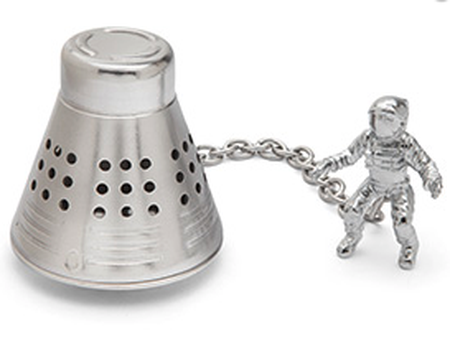 gift for business mentor: space capsule tea infuser
