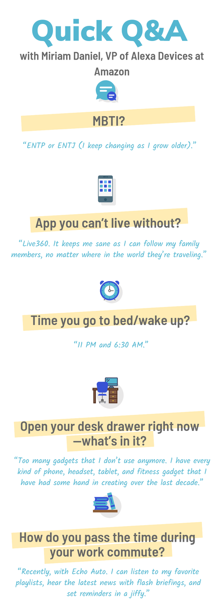 miriam daniel amazon vp alexa infographic