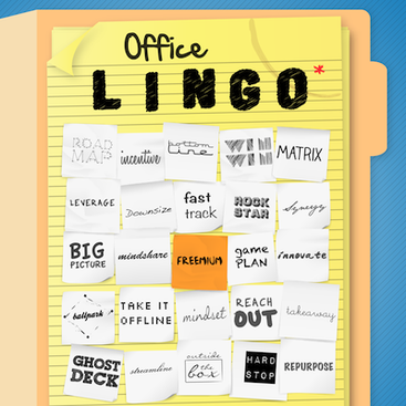 Career Guidance - Bored at Work? Play Office Lingo!