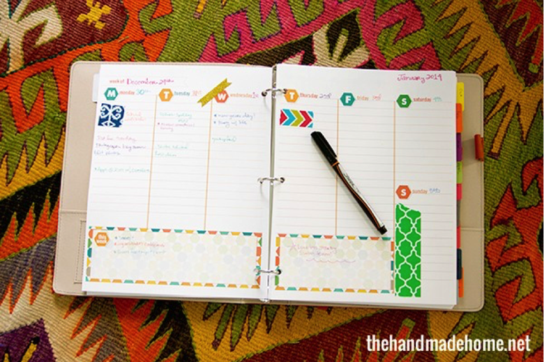 6 DIY Planners and Calendars to Stay Organized - The Muse