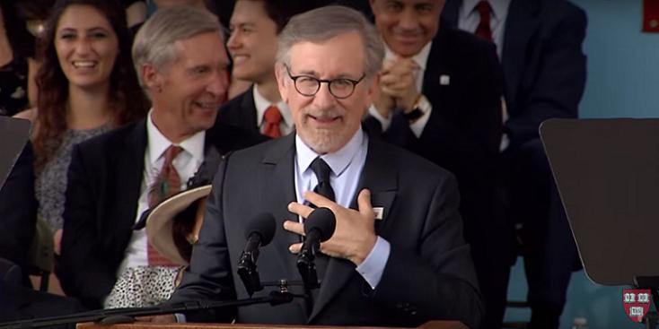Steven Spielberg's 2016 Harvard Commencement Speech