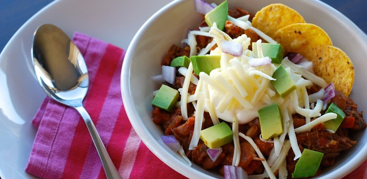 Career Guidance - Your Winter Warmup: Slow Cooker Shredded Beef Chili